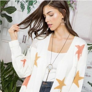 You're A Star Boutique Cardigan Size Large